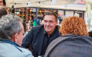 """Grupės """"Antis"""" lyderis Algirdas Kaušpėdas po filmo """"Lošėjas"""": """"Kovotojai man patinka"""""""