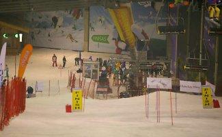 Baltijos taurės slidinėjimo varžybose Druskininkuose tarp lyderių ir lietuviai