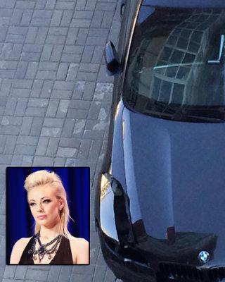<b>Vilijos Pilibaitytės-Mios</b> naująjį <b>BMW X6</b> nuniokojo vagys: išpjovė žibintus