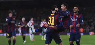 """""""Barcelona"""" įmušė 8 įvarčius ir pateko į į Karaliaus taurės aštuntfinalį"""