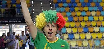"""Lietuviai ir slovėnai """"Gran Canaria"""" areną nudažė žaliai"""