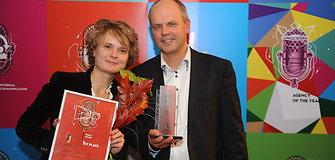 Kosmoso užkariavimą viešinusi viešųjų ryšių agentūra SKC į Lietuvą parvežė apdovanojimą