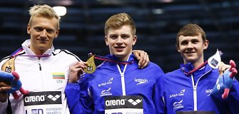 Giedrius Titenis Europos čempionate iškovojo bronzos medalį