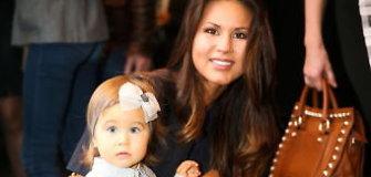 Į kulinarinę šventę Viktorija Macijauskienė atvyko su 1,5 metų dukra Gabriele