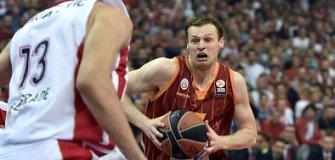 """Eurolyga: M.Pocius padėjo """"Galatasaray"""" nukauti """"Olympiakos"""" ir žengė į """"Top-16"""""""