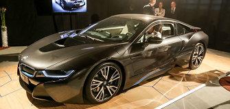 """""""BMW i8"""" paskelbtas geriausiu metų automobiliu """"Top Gear"""" rinkimuose"""