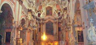 LDK istorija: Vilniaus Šv. Teresės bažnyčios sienų tapyba