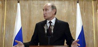 Nuolatinis Vladimiro Putino maivymasis glumina Vakarų šalių lyderius