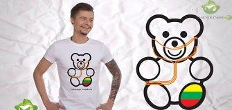 """Sirgaliaus marškinėlius sukūręs dizaineris Robertas Kalinkinas: """"Kvėpuoju krepšiniu!"""""""