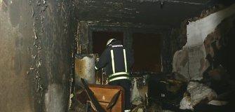 Per gaisrą Klaipėdoje smarkiai apdegė vienas žmogus, dar vienas apsinuodijo dūmais