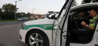 Mastaičių gyventojai stebisi: rytais gatvėmis važinėja galybė policijos, kaukia sirenos