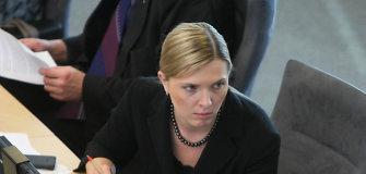 Agnė Bilotaitė kreipėsi į Generalinę prokuratūrą dėl A.Butkevičiaus ir G.Černiausko