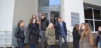 Kaune moksleiviai išbando studentišką gyvenimą