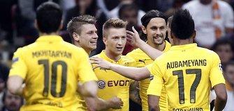 """Čempionų lyga: """"Borussia"""" ir """"Atletico"""" triuškino varžovus, """"Juventus"""" pralaimėjo Graikijoje"""