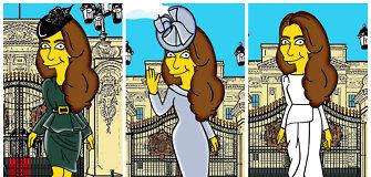 """Kembridžo hercogienė Catherine tapo """"Simpsonų"""" heroje"""