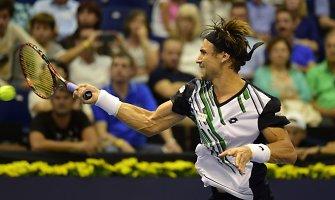 Davidas Ferreras ir Andy Murray kausis Ispanijos turnyro pusfinalyje