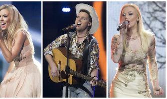 """Nacionalinę """"Eurovizijos"""" atranką paliko dar dvi autorinės dainos"""