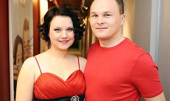 Giedrius Leškevičius su žmona Gina laukia šeimos pagausėjimo