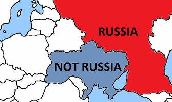 """Kanados delegacija NATO sukūrė žemėlapį Rusijai, kad jos kariai """"nepasiklystų"""" Ukrainoje"""