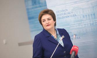 """L.Graužinienė: šią savaitę """"darbiečiai"""" dėl energetikos ministro neapsispręs"""