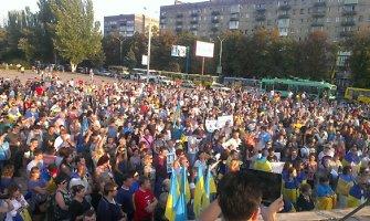 Mariupolio gyventojai iš paskutiniųjų gins miestą ir Kremliaus okupantams nepasiduos