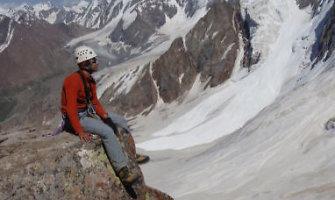 Alpinistas Jonas Jorudas apie kalnų trauką: iš pradžių norisi naujo, vėliau sudėtingo