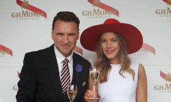 Žilvinas Grigaitis drauge su Australijos aukštuomene vasaros sezoną pradėjo žirgų lenktynėse