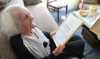 103-ejų Liudvika Juodienė: per jos gyvenimą Lietuva prisikėlė, buvo sutrypta ir vėl prisikėlė