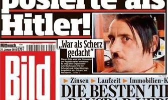 Hitlerį pamėgdžiojęs judėjimo PEGIDA lyderis Lutzas Bachmannas atsistatydina