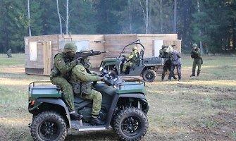 Mūšio mieste įgūdžių kariai treniruosis ir poligone Kazlų Rūdoje