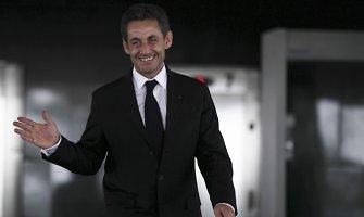Šaltiniai teigia, kad tyrimas dėl Nicolas Sarkozy korupcijos sustabdytas