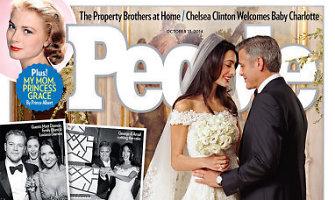 Paviešintos George'o Clooney ir Amal Alamuddin vestuvių nuotraukos