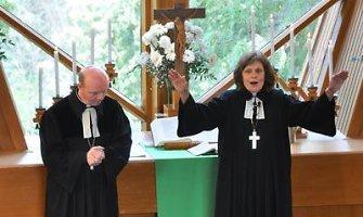 Latvijos evangelikų liuteronų bažnyčios užsienyje vyskupe išrinkta moteris