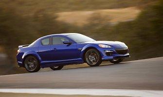 """1000 km lenktynėse pirmą kartą dalyvaus rotorinį variklį turinti """"Mazda RX-8"""""""
