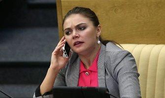 Vladimiro Putino meiluže laikoma Alina Kabajeva tapo žiniasklaidos holdingo cariene