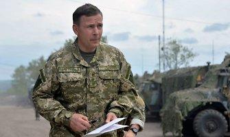 Ukrainos gynybos ministras: operacija prieš teroristus baigta, dabar reikia gintis nuo Rusijos