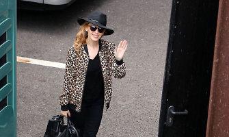 Į Kauną atvyko australų popmuzikos žvaigždė Kylie Minogue