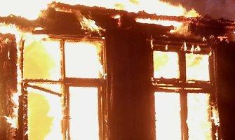Sausio 13-osios vakarą gaisras Kupiškio rajone nusinešė trijų moterų gyvybes