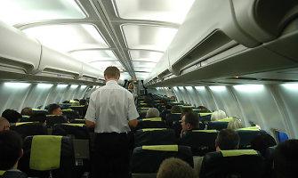 Paniškai bijau skristi: ką daryti?