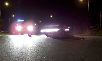 Vilniuje žuvo neleistinoje vietoje per kelią ėjęs vaikinas