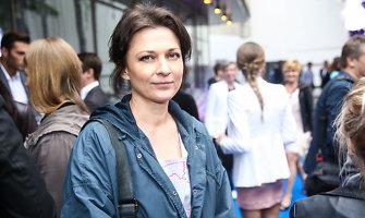 """Rimantė Valiukaitė """"Videometros"""" sezono uždarymo šventėje pasirodė vilkėdama sportinį kostiumą"""