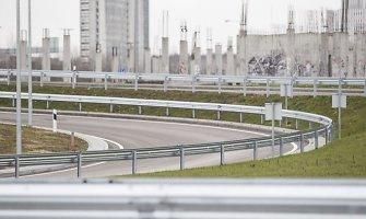 Dėl vakarinio aplinkkelio viaduko remonto Vilniuje rugsėjį bus ribojamas eismas