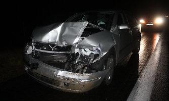 Magistralėje Vilnius–Panevėžys – dviguba avarija