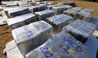 Peru konfiskuota daugiau negu 6 tonos kokaino