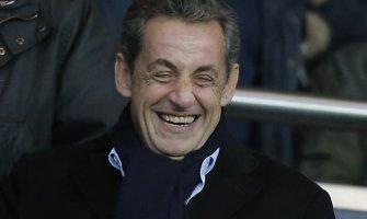 Nicolas Sarkozy išrinkimas partijos lyderiu parėmė jo prezidentines ambicijas