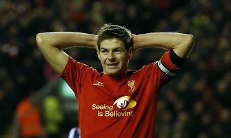 """Stevenas Gerrardas gali palikti """"Liverpool"""" komandą"""