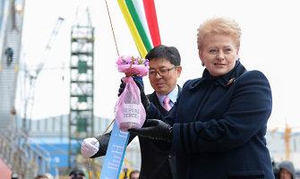 Prezidentė: nesijaudinu dėl dujų tiekimo Lietuvai šią žiemą