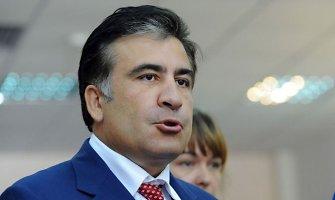 Michailui Saakašviliui pateikti kaltinimai dėl vieno Gruzijos bankininko žmogžudystės