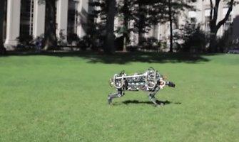 """Elektroninis robotas – gepardas """"Cheetah"""" bėgs greičiau už Usainą Boltą"""