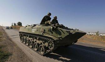 Rusija įsiveržė į Ukrainą: puolama keliomis kryptimis, užimtas Novoazovskas